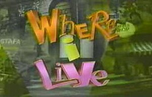 Where I Live - Image: Whereilive