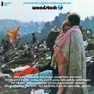 Woodstock: Music from the Original Soundtrack and More - Image: Woodstock Original Soundtrack 1970