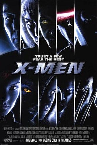 X-Men (film) - Theatrical release poster