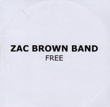 Zac Brown - Free PROMO cd.png