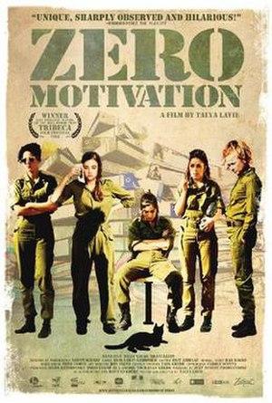 Zero Motivation - Film poster