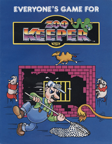 Zoo Keeper arcade flyer.png