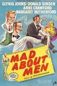 Image result for mad about men 1954