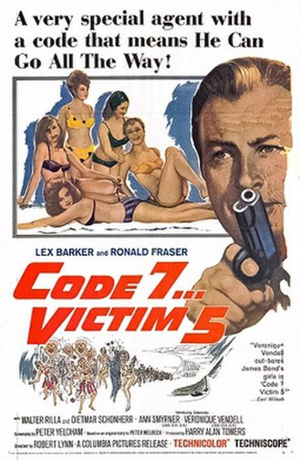 Victim Five - Detail original U.S. poster