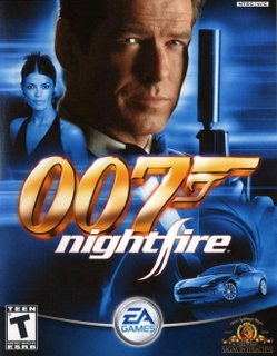 <i>James Bond 007: Nightfire</i> 2002 first-person shooter video game
