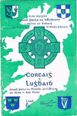1957 All Ireland Senior Football Championship Final Programme