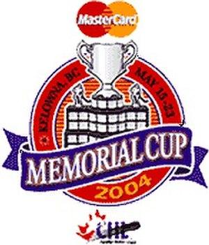 2004 Memorial Cup - Image: 2004 Memorial Cup in Kelowna