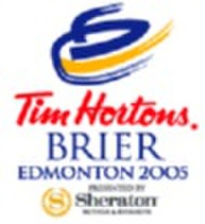 2005 Tim Hortons Brier - Image: 2005brier