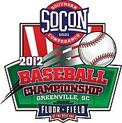 2012 SoCon baseball tournament logo