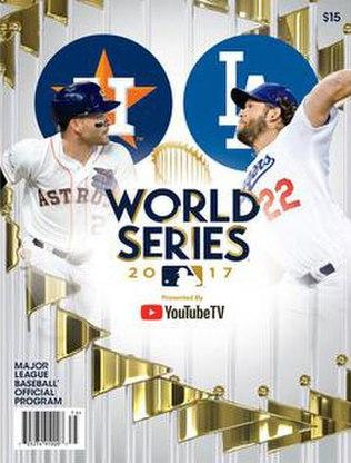 2017 World Series program