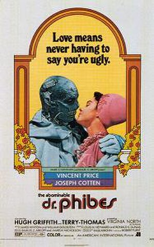 The Abominable Dr. Phibes - Theatrical release poster