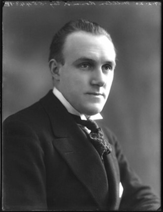 Milton Rosmer - portrait by Bassano Ltd., 1907