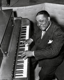 Albert Ammons American jazz pianist, recording artist