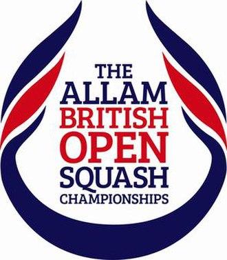 British Open Squash Championships - Image: Allam British Open Logo