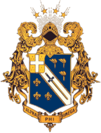 Alpha Phi Omega - The official coat of arms of Alpha Phi Omega