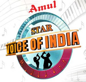 """STAR Voice of India - The """"Star Voice of India"""" logo."""