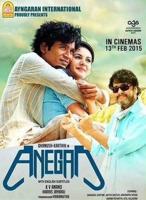 Anegan - Theatrical release poster