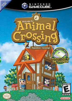 Animal Crossing (video game) - North American GameCube cover art