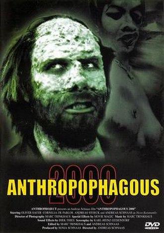 Anthropophagous 2000 - Image: Anthropophagous 2000