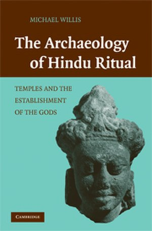 The Archaeology of Hindu Ritual - The cover of the book, depicting a Vaisnava head from Bhitrī, Uttar Pradesh, now in the British Museum, London. Jacket designed by Alice Soloway.