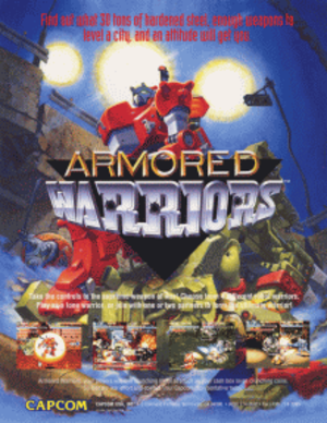 Armored Warriors - Image: Armored Warriors sales flyer
