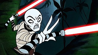 Asajj Ventress - Asajj Ventress in Star Wars: Clone Wars.