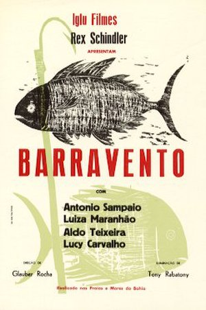 Barravento - Theatrical release poster