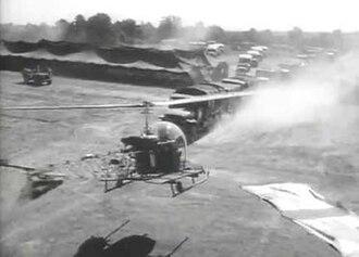 Battle Circus (film) - The aerial scenes were filmed at Camp Pickett, Virginia.