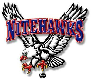 Beaver Valley Nitehawks - Image: Beaver Valley Nitehawks Logo