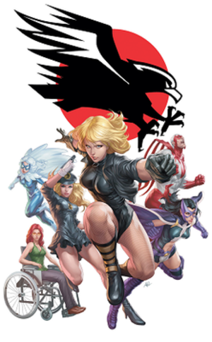 Birds of Prey (comics) - Image: Birds of Prey 8 (Jan 2010)
