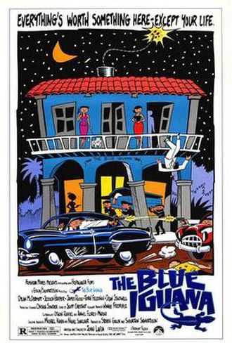The Blue Iguana - Theatrical release poster