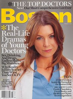 Boston (magazine) - February 2006 issue
