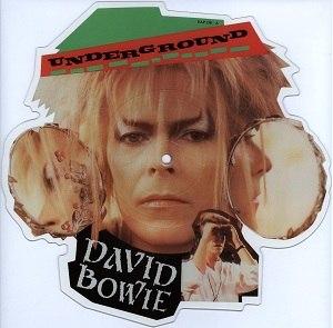 Underground (David Bowie song) - Image: Bowie Underground Picture Disc