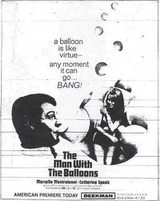 Break Up (1965 film) - A poster with the film's alternative English title:The Man with the Balloons