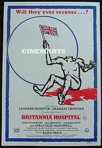 Britannia Hospital - Theatrical release poster