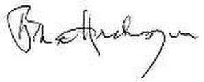Buddhadeb Bhattacharjee - Image: Buddhadeb Bhattacharjee signature