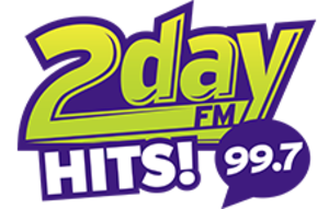 CIQC-FM - Image: CIQC 2day FMHITS!99.7 logo