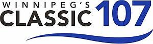 CKCL-FM - Image: CKCL Winnipegs Classic 107 logo