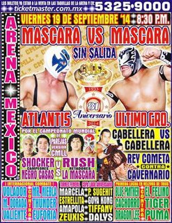 CMLL 81st Anniversary Show Mexican professional wrestling supercard show
