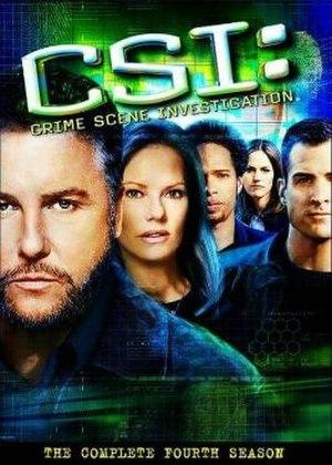 CSI: Crime Scene Investigation (season 4) - Season 4 U.S. DVD cover