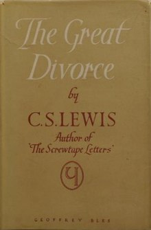 a review of the great divorce by cs lewis Cs lewis paper (great divorce) this essay cs lewis paper (great divorce) and other 63,000+ term papers, college essay examples and free essays are available now on.