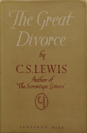 The Great Divorce - First edition