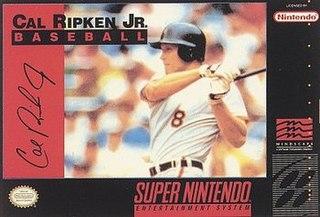 <i>Cal Ripken Jr. Baseball</i> 1992 video game