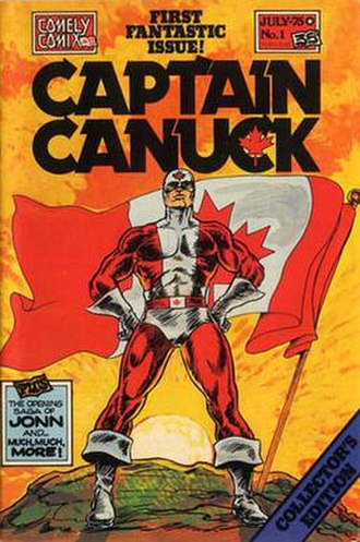 Captain Canuck - Image: Captain Canuck 1