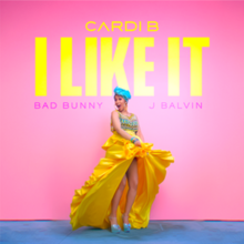 Cardi B, Bad Bunny and J Balvin - I Like It (Single Cover).png