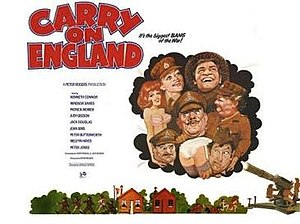 Carry On England - Image: Carry On England Film Poster
