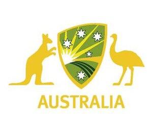 Cricket Australia XI - Image: Caxi aus a logo