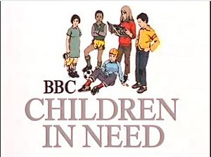 Children in Need - The original logo, used from 1980 to 1984