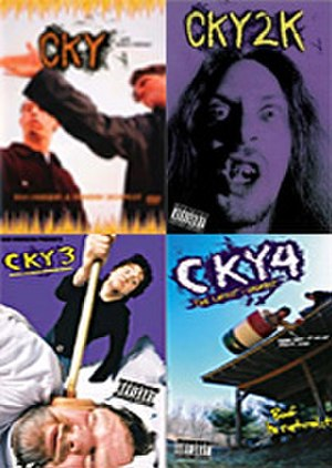 CKY (video series) - The covers for all 4 videos: CKY, CKY2K, CKY3, and CKY4