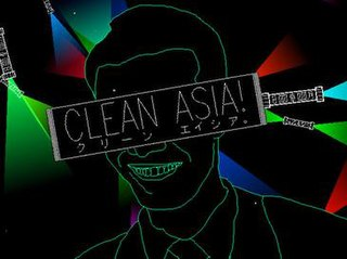 <i>Clean Asia!</i> freeware vertical shooter video game